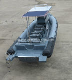 Barco de motor de China Aqualand 30feet los 9m/bote patrulla/rescate/bote patrulla inflables rígidos de la costilla (RIB900)