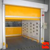 Porte sectionnelle industrielle de garage d'obturateur de rouleau