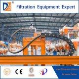 Prensa de filtro auto del equipo del tratamiento de aguas residuales del vendedor que se lava superior