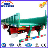 Reboque incluido do caminhão da carga de maioria da parede lateral com único eixo