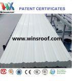 Hoja UPVC del material para techos 3 capas