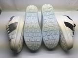 Heißer Verkaufs-stilvolle Entwurfs-weich flach farbige Segeltuch-Schuhe (6097)