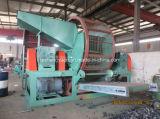 Vollständige Gummireifen-Reißwolf-Maschine für den Gummireifen, der den Produktionszweig gebildet in Qingdao aufbereitet