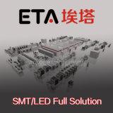 Cadena de producción ligera de alta velocidad de la fabricación LED, líneas de montaje semiautomáticas de SMT