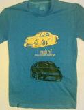 T-shirts de coton dedans estampés avec des vinyles de transfert thermique à vos dessin-modèles