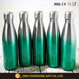 Crear la botella de agua aislada pared doble del acero para requisitos particulares inoxidable