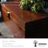 Caisse d'emballage en bois faite sur commande de chaussure de Hongdao avec le couvercle articulé Wholesale_L