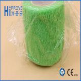 Vendaje auto-adhesivo médico elástico 100% del algodón