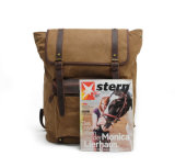 Backpack студента холстины изготовления Китая рюкзак прочного ретро