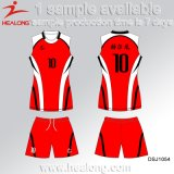 Volleyball bon marché Jersey de dames de sublimation des prix de Healong