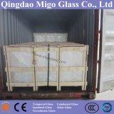 3.2mm/4mmの常態のソーラーコレクタのための鉄によって強くされる保護ガラス