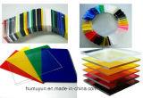 Diverses feuilles d'acrylique de plexiglass de dimensions