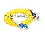 Fibre optique duplex Patchcord de SM de St/Upc-LC/Upc