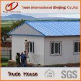 Edifício móvel/modular da construção de aço clara/pré-fabricou/casa Prefab da família do acampamento