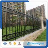 ドイツの高品質の庭の鋼鉄塀