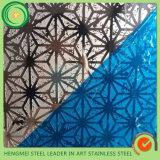 Online het Winkelen Spiegel Kleurrijke Ets 304 het Blad van het Roestvrij staal voor Decoratieve Showcase