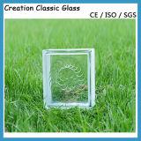 De duidelijke Baksteen van het Glas, het Blok van het Glas voor de Bouw en Decoratie