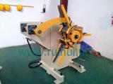 Uncoiler por modo manual o neumático e hidráulico de la extensión usando en línea de la prensa