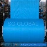 сплетенное 70GSM голубые PP прокатало рулоны ткани