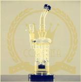 8 braccia e bianco di vetro del tubo di acqua di Perc del favo