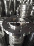 CNCの精密機械化の部品フランジかアルミニウム、真鍮の部分またはアルミニウム鍛造材または造られたフランジの炭素鋼