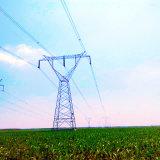 500 kilovolts choisissent la ligne de transport d'énergie de circuit tour d'acier de cornière