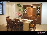 Gabinetes de cozinha personalizados antiguidade da madeira contínua de Welbom