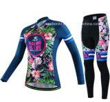 摩耗、冬の摩耗のための長い袖が付いている卸売の循環の衣服を循環させている最上質のカスタム女性