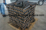 Noce di cocco Shell Husk Charcoal Briquette Making Machine Made in Cina