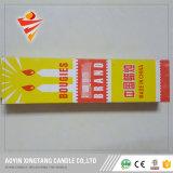 Vela de la cera de parafina 26g con el surtidor de China