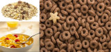 Amerikanische Corn Flakes, die Extruder-Geräten-Zeile Getreide-Nahrungsmittelmaschine bilden
