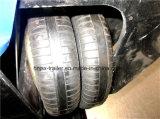 4半半車軸40FT平面のトレーラーの容器のトレーラー