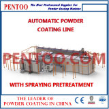 Spraying Pretreatment를 가진 가득 차있는 Automatic Powder Coating Line