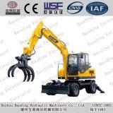 Shandong-kleine Rad-Exkavator-Miniexkavator mit ISO9001