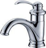 Faucet de lavabos da torneira da cachoeira do misturador da bacia, revestimento do cromo