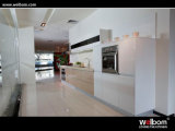 MFC Veneer Customized Kitchen Cabinetsの粒子Board