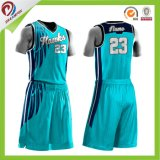 OEMは自由なデザインカスタムチームバスケットボールのジャージの卸売を整備する