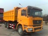 Vrachtwagen van de Kipper Shacman van de Vrachtwagen van China de Op zwaar werk berekende 6X4 Gloednieuwe