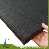 リサイクルされたゴム製床のマット