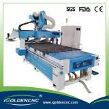 Máquina automática de troca de ferramentas Máquinas para trabalhar madeira pneumática