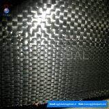 Frontière de sécurité noire de vase tissée par pp de qualité