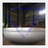 Extrémités elliptiques titaniques d'acier de tête de réservoir d'assiette