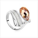 Anillo, la mujer Vagula manera del anillo de zirconia cúbica mayorista