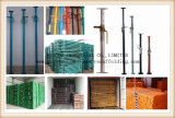 Suportes de aço ajustáveis de grande resistência do andaime do fabricante de China para o molde da construção
