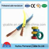 Câble électrique et fils à un noyau de cuivre échoués par rv