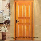 Дверь самой последней двери цены конструкции дешевой нутряной деревянной законченный