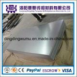 99.95% Molybdenum puro Sheet/Plate para Heating Shield con Factory Price