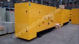 Ce/Soncap/CIQ/ISOの証明の建設プロジェクトのための438kVA Yuchaiの無声ディーゼル発電機