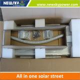Réverbère solaire Integrated de détecteur de mouvement avec 5 ans de garantie