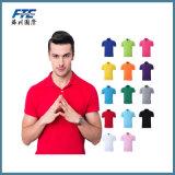 Costumbre normal 100% algodón camiseta del polo